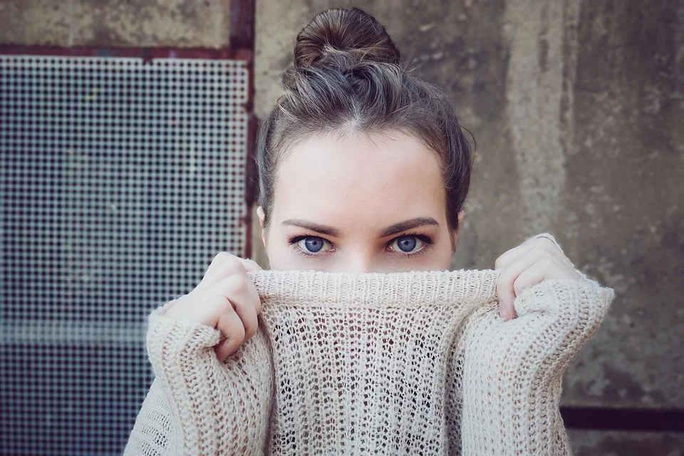 Vrouw trui