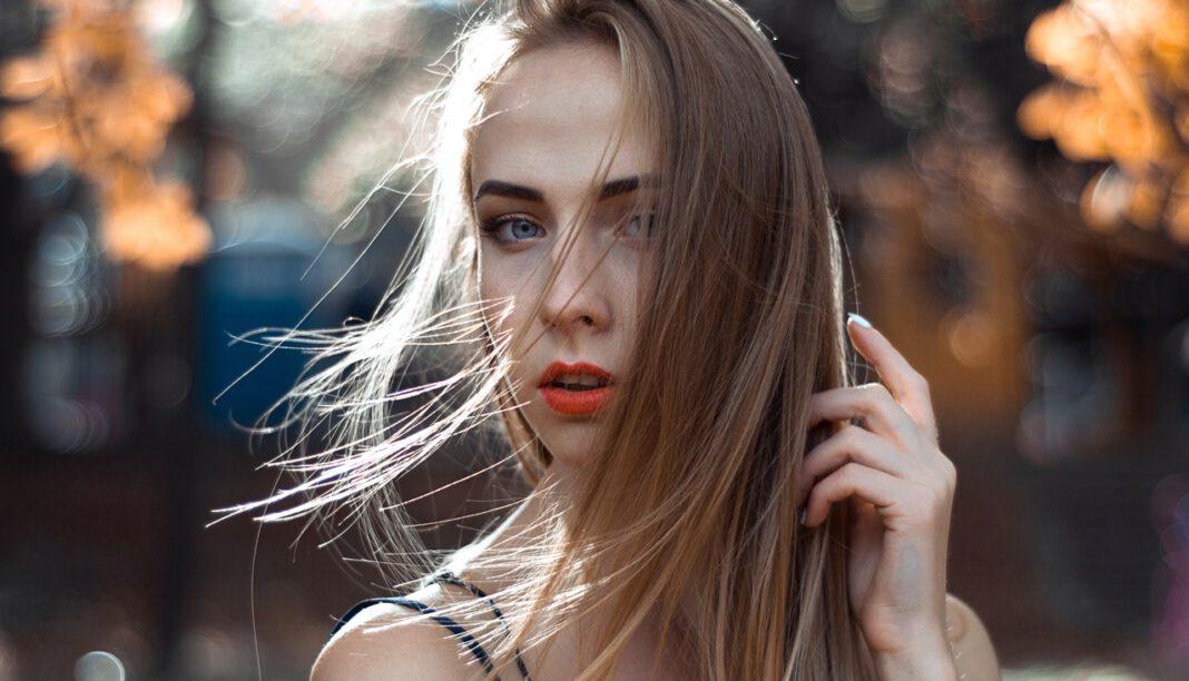 sprankelend haar