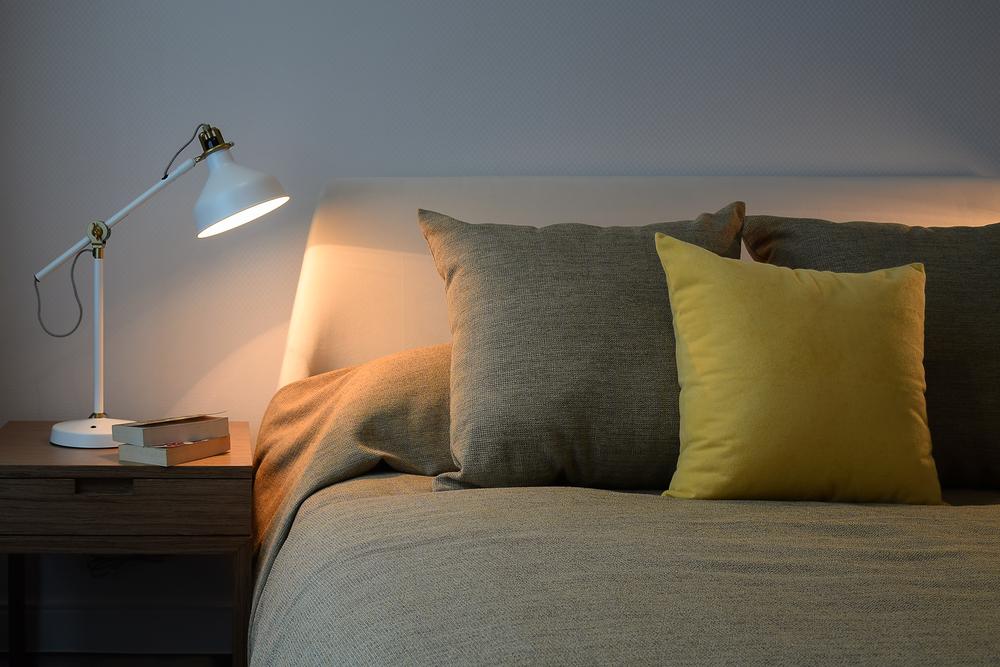 lampje bij het bed om te lezen